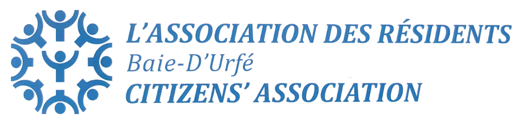L'Association des Résidents Baie-D'Urfé Citizens Association